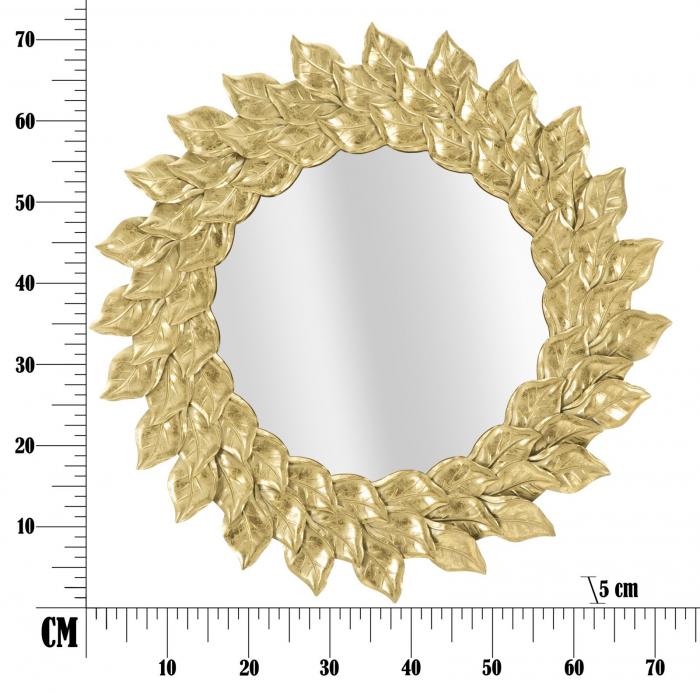 Oglinda GLAM PETAL (cm) Ø 73X5 6