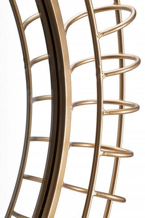 Oglinda GLAM RING CM Ø 81X8,9 (oglinda CM Ø 55), Mauro Ferretti 2