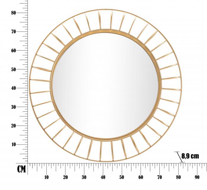 Oglinda GLAM RING CM Ø 81X8,9 (oglinda CM Ø 55), Mauro Ferretti 5