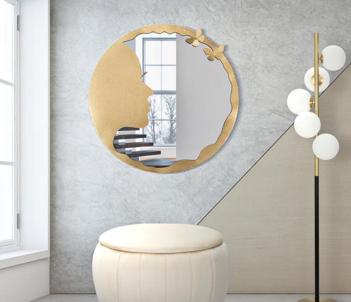 Oglinda LADY LUXY -B- O CM 80X2,5 (oglinda CM O 72), Mauro Ferretti imagine 2021 lotusland.ro