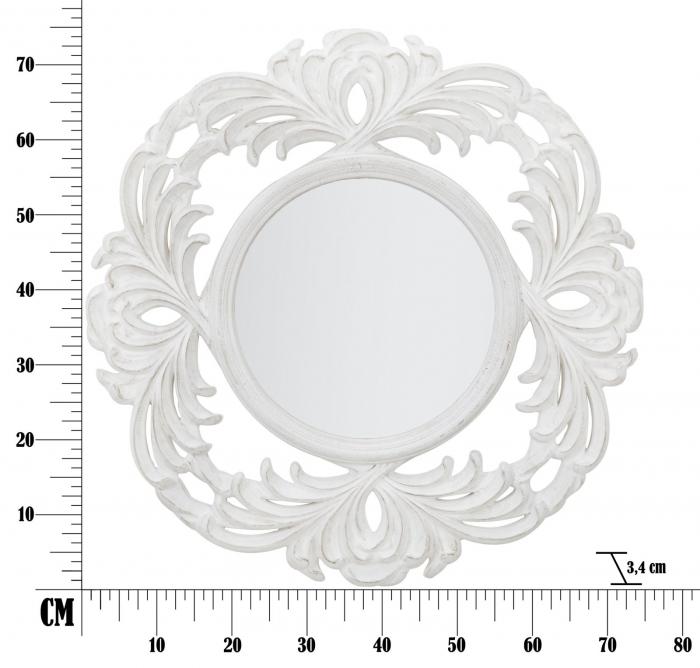 Oglinda LUXEMBOURG SMALL (cm) Ø 75X3,4   6