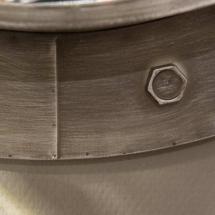 Oglinda HARBOUR, metal, 76x8 cm 1
