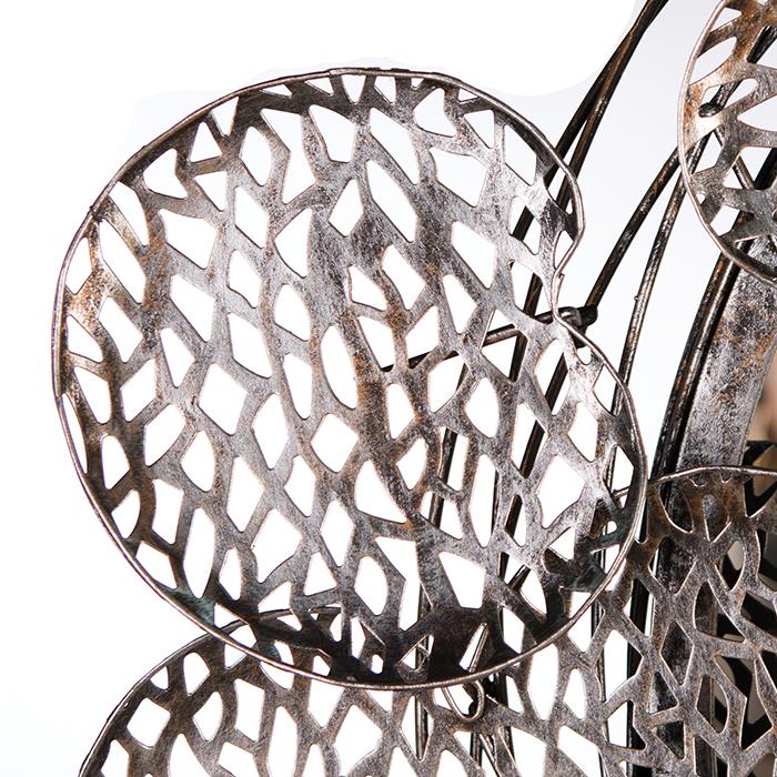 Oglinda PURELY LEAVES, metal, 68x63x7,5 cm [1]