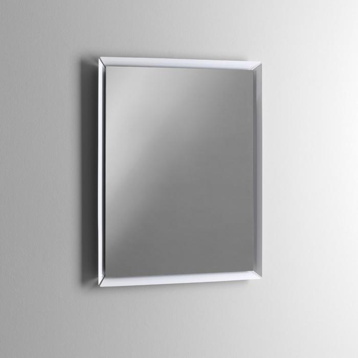 Oglinda NARA, Metal Sticla, Alb, 70x4x90 cm 2021 lotusland.ro