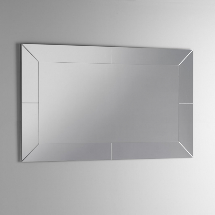 Oglinda NOTCH 1, Sticla Abs, Transparent, 90x2.5x70 cm 2021 lotusland.ro