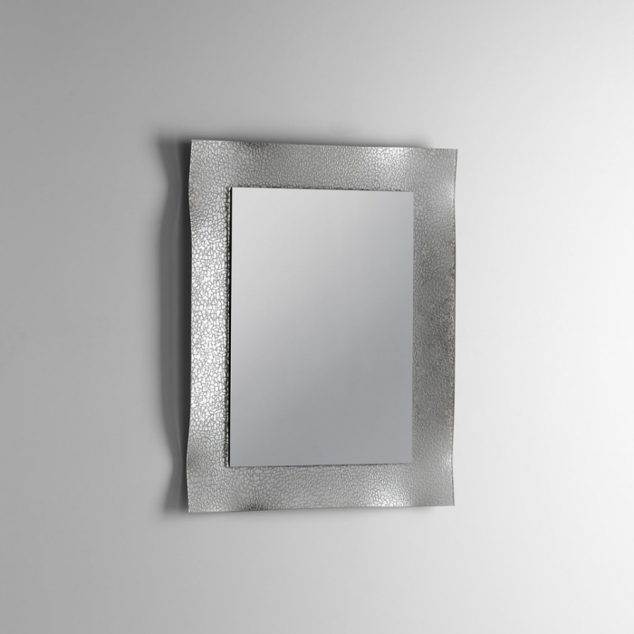 Oglinda SCREEN 1, Sticla Abs, Argintiu, 70x4.3x90 cm lotusland.ro