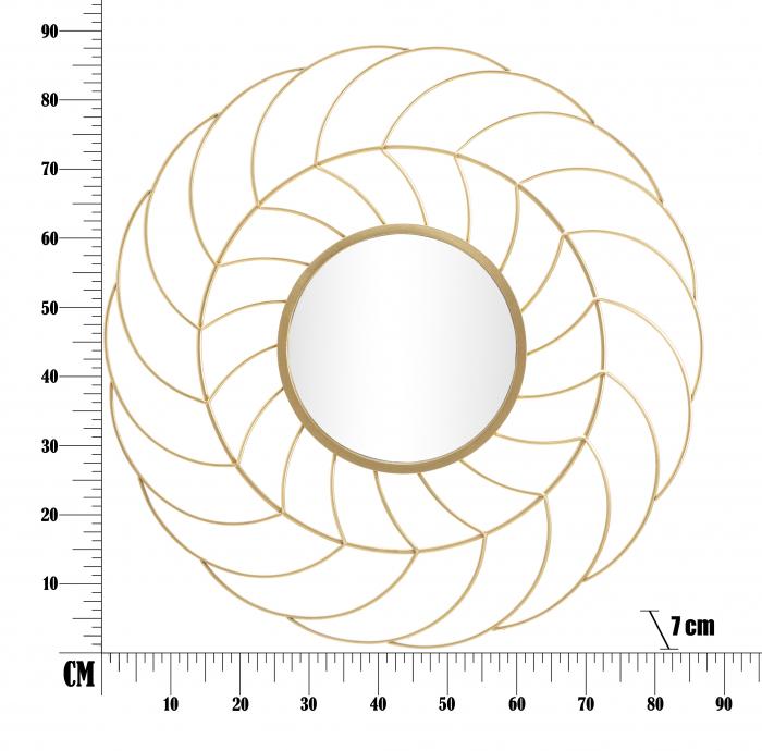 Oglinda SUNFLOWER CM Ø 88X7 (oglinda CM Ø 33), Mauro Ferretti 5