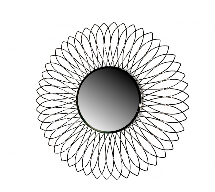 Oglinda TROPIC, metal, 76 cm 0