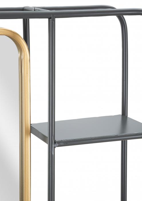 Oglinda cu rafturi INDUSTRY CM 62,5X12X74,5, Mauro Ferretti [3]