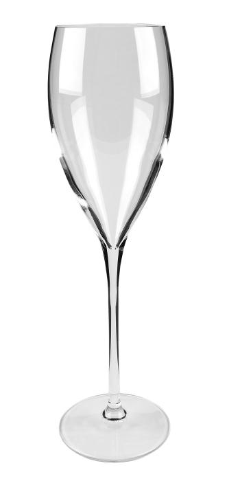 Pahar pentru sampanie SALVADOR, sticla, 26x7.3 cm 0