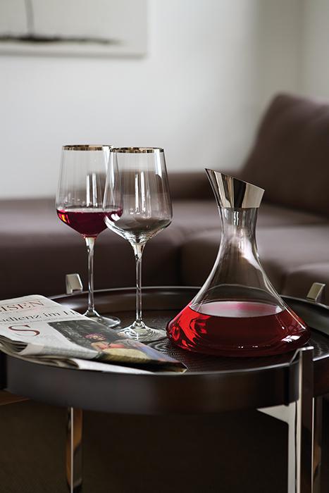Pahar pentru vin PLATINUM, sticla, 27x10cm 2