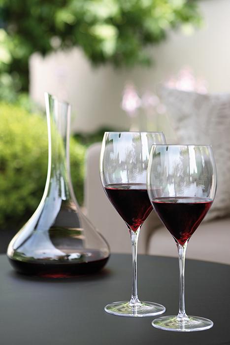 Pahar pentru vin SALVADOR, sticla, 26x10.3 cm 2