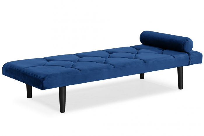 Pat de zi Diana, Albastru, 185x40x75 cm 1