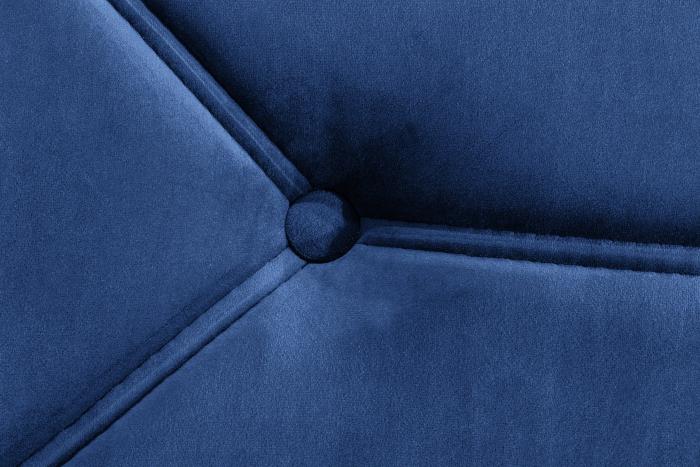 Pat de zi Diana, Albastru, 185x40x75 cm 5