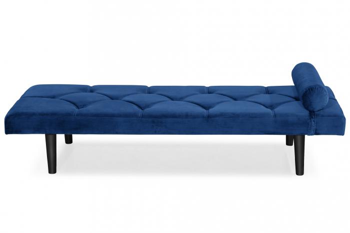 Pat de zi Diana, Albastru, 185x40x75 cm 0