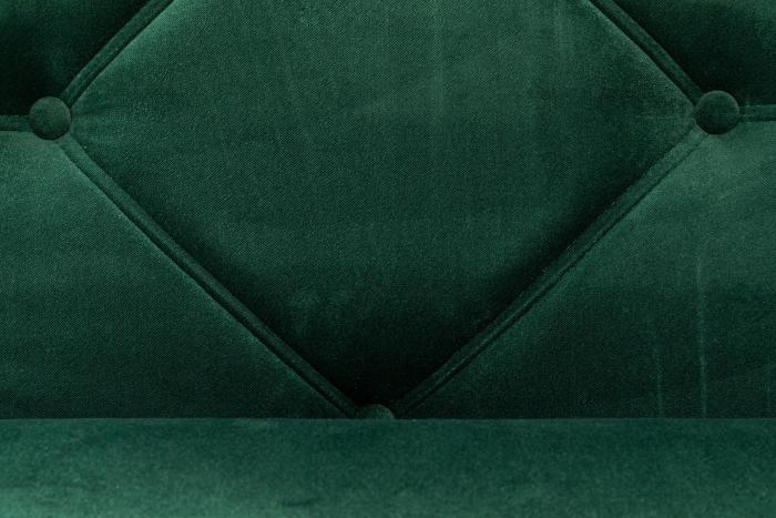 Pat de zi Diana, Verde inchis, 185x40x75 cm 5
