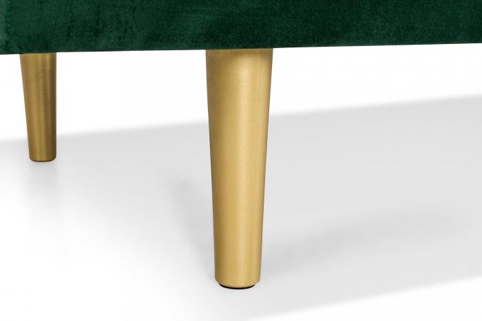 Pat de zi Diana, Verde inchis, 185x40x75 cm 4
