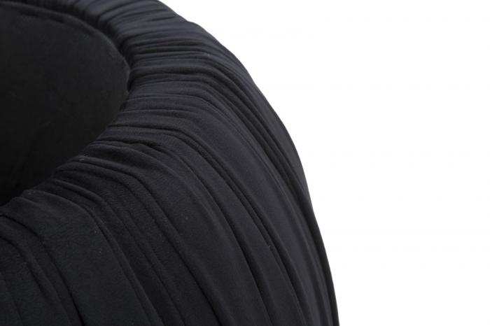 Puf cu spatiu depozitare PARIS, negru, 41X41 cm, Mauro Ferretti 7
