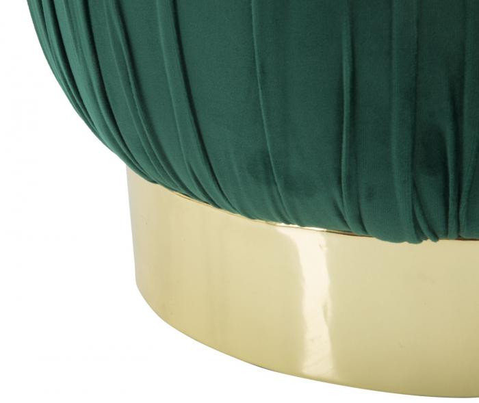 Puf cu spatiu depozitare PARIS, verde, 41X41 cm, Mauro Ferretti 5