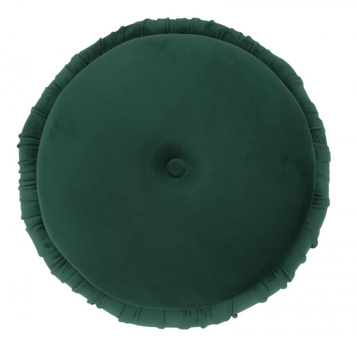 Puf cu spatiu depozitare PARIS, verde, 41X41 cm, Mauro Ferretti 2