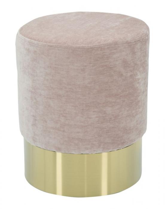 Puf GOLDY ROSE (cm) Ø 35X42 0