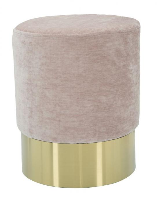 Puf GOLDY ROSE (cm) Ø 35X42 1