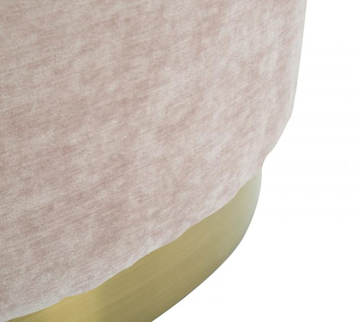 Puf GOLDY, roz,  60X40X40 cm, Mauro Ferretti [6]