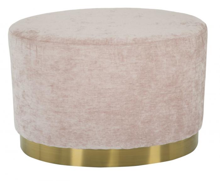 Puf GOLDY, roz,  60X40X40 cm, Mauro Ferretti [1]