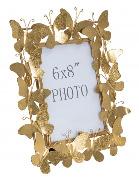 Rama foto BUTTERFLY GLAM CM 28X11,5X30,5 (dimensiune foto CM 15X20) , Mauro Ferretti [3]