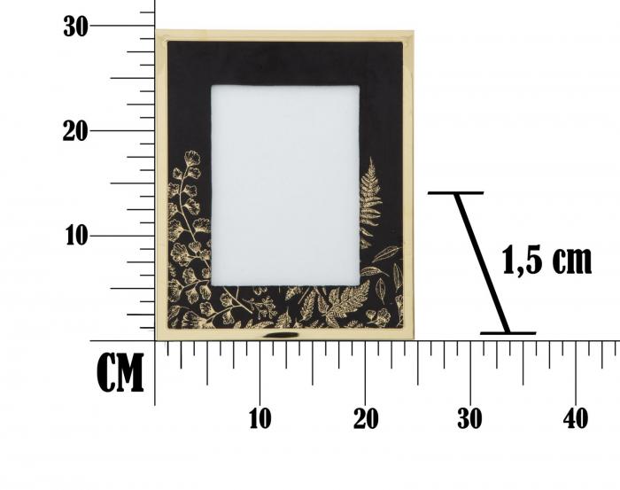 Rama foto GLAM, negru, 15X20 cm, Mauro Ferretti  6