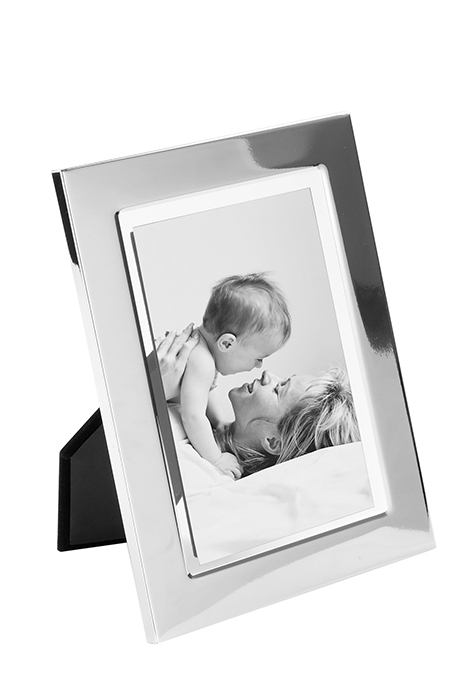 Rama foto LUCA, metal placat cu argint sticla, 16.4 x 21.4 x 1.5 cm, Fink 2021 lotusland.ro