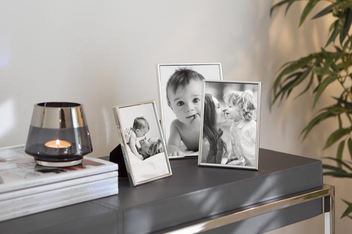 Rama foto NIKO, placata cu argint, 18.3x13.2 cm 1