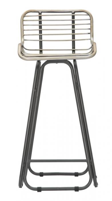 Scaun de bar DUBLIN (cm) 45X45X102 2