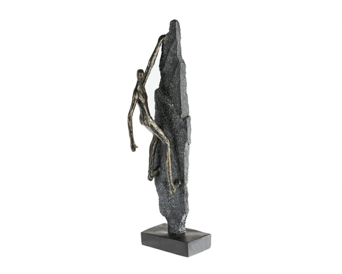 Figurina CLIMBER, rasina, 13x8x47 cm imagine 2021 lotusland.ro