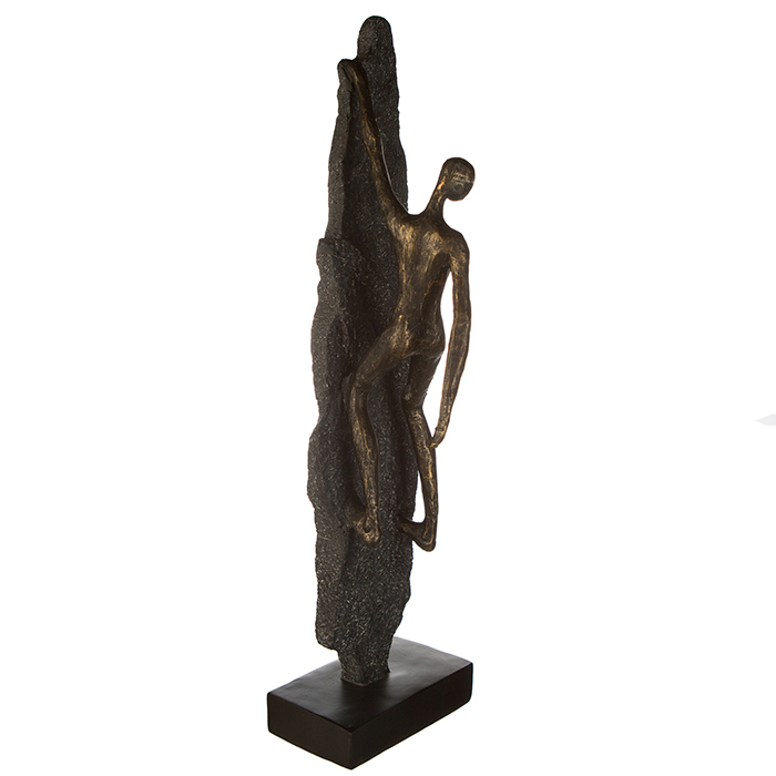 Figurina CLIMBER, rasina, 13x8x47 cm 1