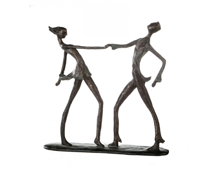 Figurina DANCING JIVE, rasina, 36x36 cm 0