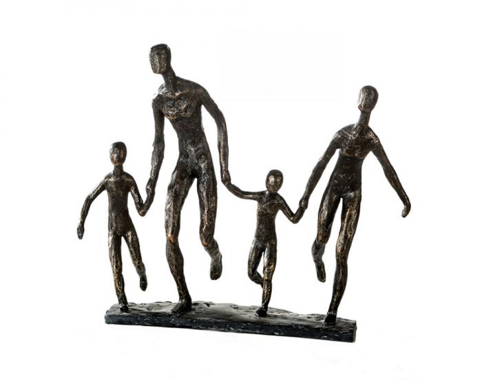 Figurina FAMILY, rasina, 35x10x32 cm [0]