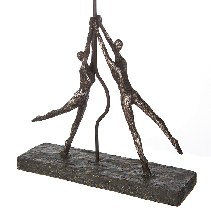 Figurina HEART-BALLOON, rasina, 26x8x48 cm 3