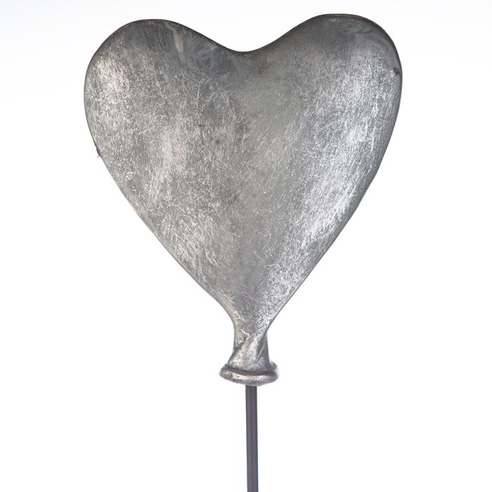 Figurina HEART-BALLOON, rasina, 26x8x48 cm 1