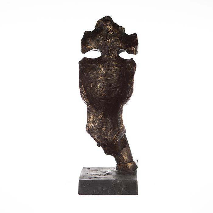 Figurina SILENCE, rasina, 13x13x39 cm 4