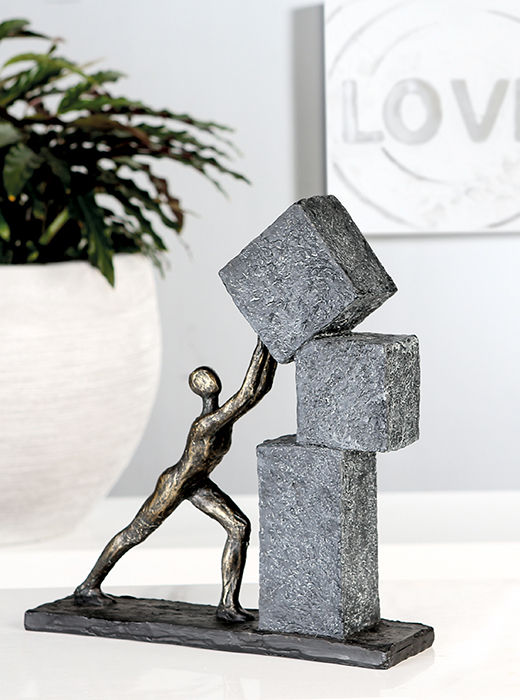 Figurina STACKING, rasina, 28x7x30.5 cm 0