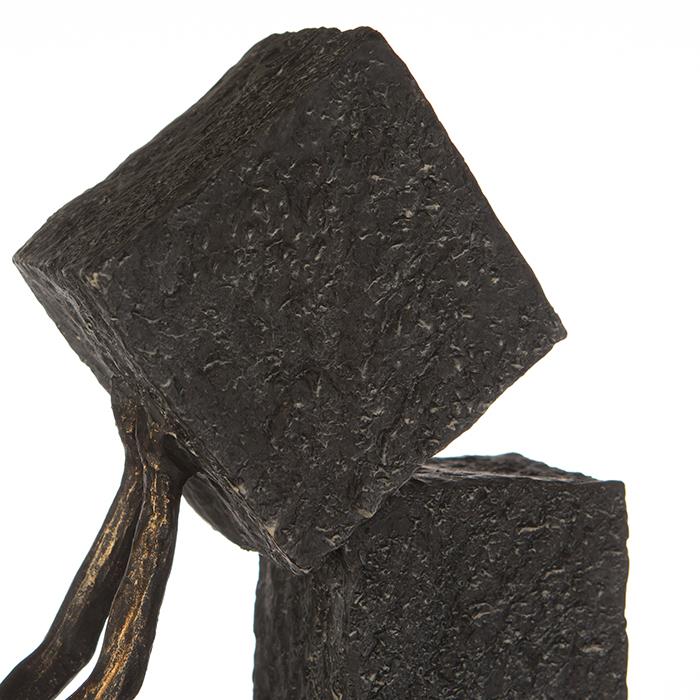 Figurina STACKING, rasina, 28x7x30.5 cm 2