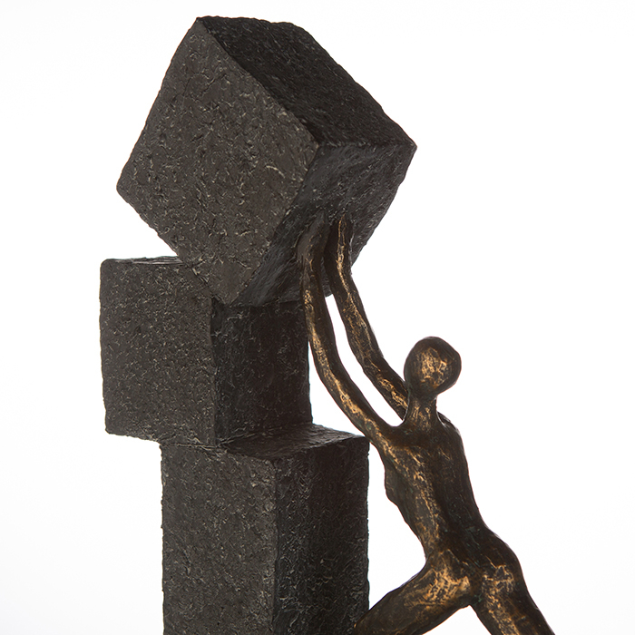 Figurina STACKING, rasina, 28x7x30.5 cm 1