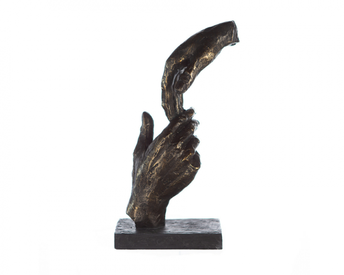 Figurina TWO HANDS, 29x8x13 cm 5