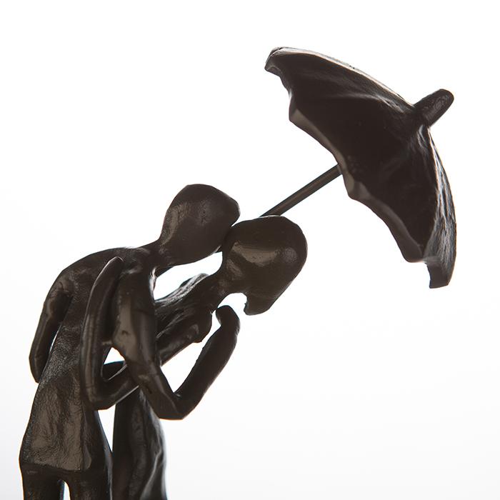 Figurina UMBRELLA, metal, 18x7x10 cm 1