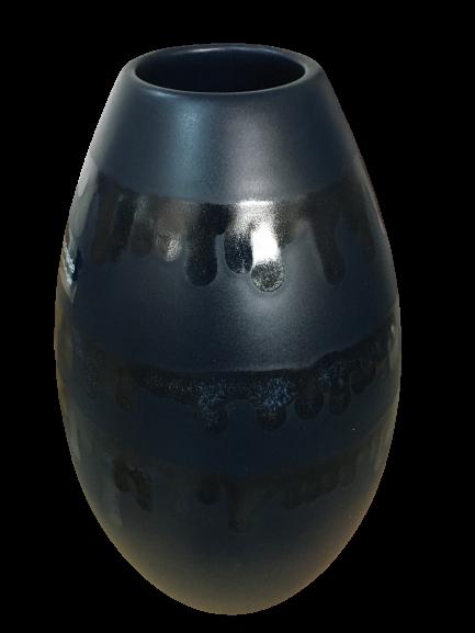 Set 1 Lampa cu 2 vaze HORY, ceramica, albastru, 35/23.5/30 cm 1