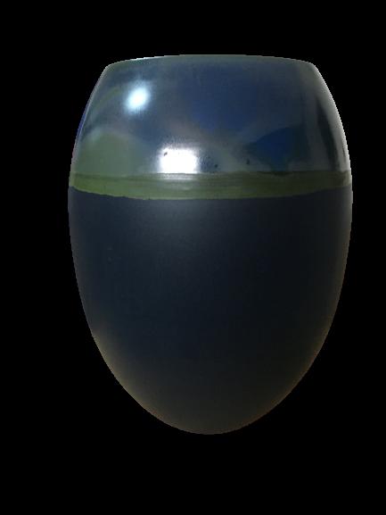 Set 1 Lampa cu 2 vaze HORY, ceramica, albastru, 35/23.5/30 cm 2