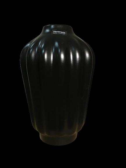 Set 1 Lampa cu 3 Vaze KNOPPER, ceramica, negru, 34/34/30/28 cm [6]