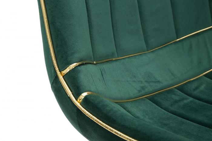 Set 2 fotolii PARIS verde/auriu (cm) 51X59X79 5