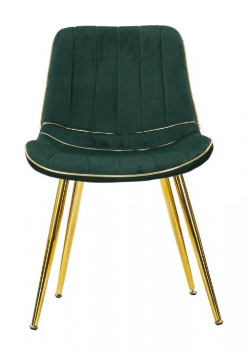 Set 2 fotolii PARIS verde/auriu (cm) 51X59X79 3